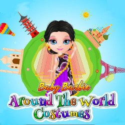 Baby Barbie Around the World Costumes