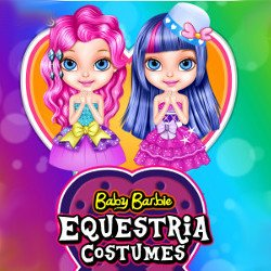Baby Barbie Equestria Costumes