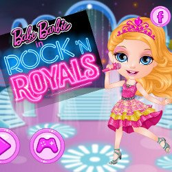 Baby Barbie in Rock N Royals