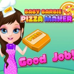 Baby Barbie Pizza Maker