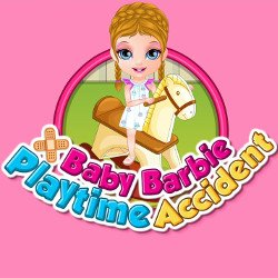 Baby Barbie Playtime Accident