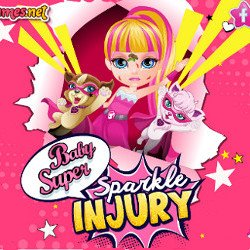 Baby Barbie Super Sparkle Injury