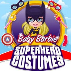 Baby Barbie Superhero Costumes
