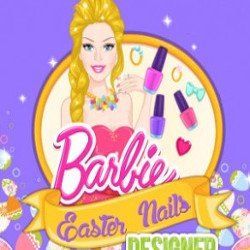 Barbie Easter Nails Designer