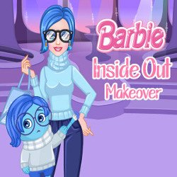 Barbie Inside Out Makeover