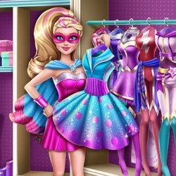 Super Barbie Doll Closet