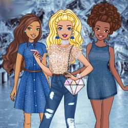 Barbie Denim and Diamonds Party