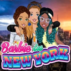 Barbie in New York