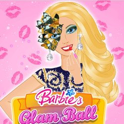 Barbie's Glam Ball Makeup
